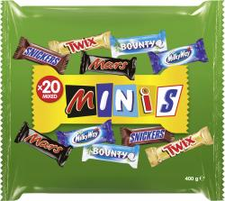 Mars Mixed Minis  (400 g) - 5000159452977