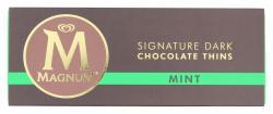Magnum Signature Dark Chocolate Thins mint  (180 g) - 5010775191587