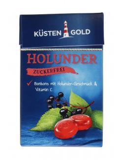Küstengold Bonbons Holunder zuckerfrei  (50 g) - 4250426216196