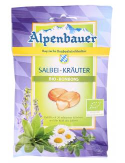 Alpenbauer Bio Bonbons Salbei-Kräuter  (75 g) - 4054451200027