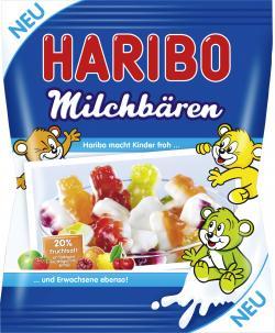 Haribo Milchbären  (175 g) - 4001686356500