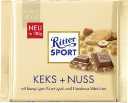 Ritter Sport Bunte Vielfalt Keks + Nuss  (100 g) - 4000417024008