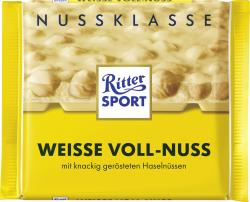 Ritter Sport Nussklasse Weisse Voll-Nuss  (100 g) - 4000417701008