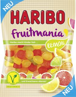 Haribo Fruitmania Lemon  (175 g) - 4001686392553
