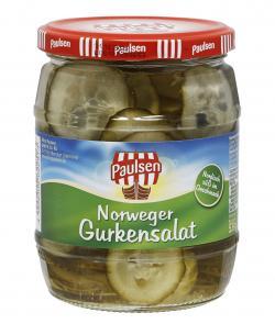 Paulsen Norweger Gurkensalat  (290 g) - 4009309622513