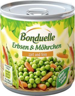 Bonduelle Erbsen mit Möhrchen zart und fein  (265 g) - 3083680003841