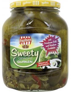 Paulsen Sweety Gewürzgurken  (360 g) - 4009309142417