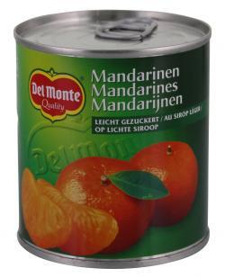Del Monte Mandarinen leicht gezuckert  (175 g) - 24000011484