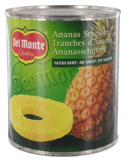 Del Monte Ananas Scheiben gezuckert  (490 g) - 24000012306