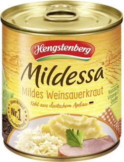 Hengstenberg Mildessa mildes Weinsauerkraut  (285 g) - 4008100151567