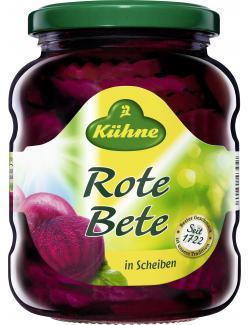 Kühne Rote Bete Scheiben  (220 g) - 4012200343128