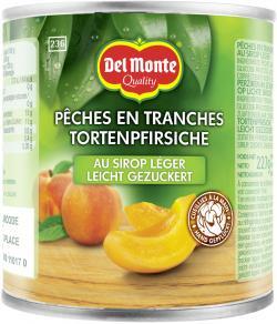 Del Monte Tortenpfirsiche leicht gezuckert  (140 g) - 24000110170