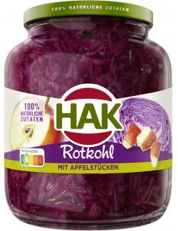 Hak Rotkohl mit Apfelstücken  (720 ml) - 8720600096105
