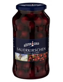 Küstengold Sauerkirschen entsteint gezuckert  (350 g) - 4003691005312