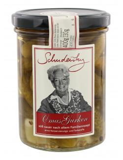 Schudeisky Omas Gurken süß-sauer  (220 g) - 4023217000638