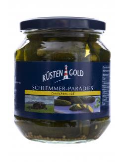 Küstengold Schlemmer-Paradies Feine Gürkchen süß  (300 g) - 4250426205220