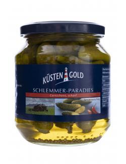 Küstengold Schlemmer-Paradies Feine Gürkchen scharf  (300 g) - 4250426205244
