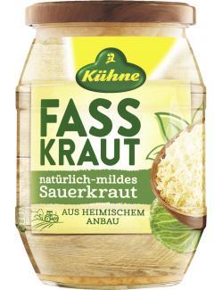 Kühne Fasskraut Sauerkraut natürlich-mild  (650 g) - 4012200505359