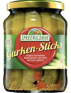 Spreewaldhof Gurken-Sticks  (360 g) - 4012712001714