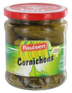 Paulsen Cornichons  (190 g) - 4009309132616