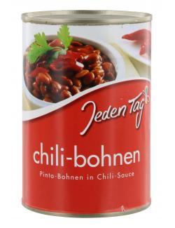 Jeden Tag Chili-Bohnen in Chili-Sauce  (240 g) - 4000493910103