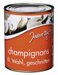 Jeden Tag Champignons geschnitten 3.Wahl  (460 g) - 4250548900157