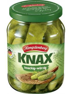 Hengstenberg Knax Gewürzgurken knackig & würzig  (185 g) - 40081427