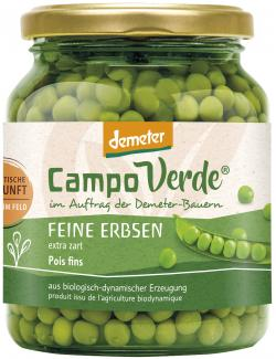 Demeter Campo Verde Bio Feine Erbsen  (215 g) - 4045178002469