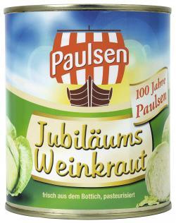 Paulsen Jubiläums Weinkraut  (770 g) - 4009309031247