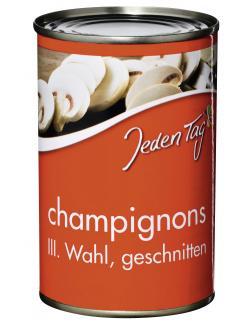 Jeden Tag Champignons geschnitten 3.Wahl  (170 g) - 4250548900171