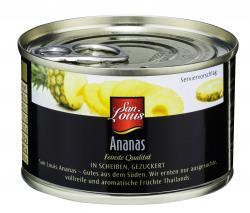 San Louis Ananas in Scheiben gezuckert  (137 g) - 4000493148605