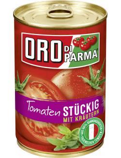 Oro di Parma Tomaten mit Kräutern stückig  (400 ml) - 4008100168473