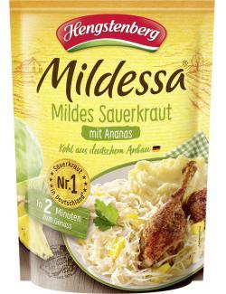 Hengstenberg mildes Mildessa Sauerkraut mit Ananas  (400 g) - 4008100154551