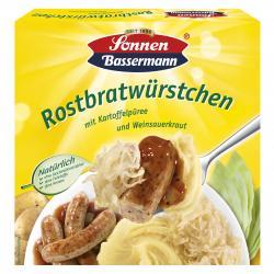 Sonnen Bassermann Rostbratwürstchen mit Kartoffelpüree und Weinsauerkraut  (460 g) - 4002473756459