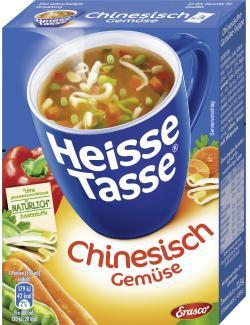 Erasco Heisse Tasse Chinesische Gemüse-Suppe  - 4013300035043