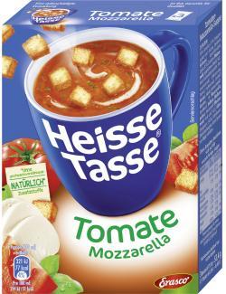 Erasco Heisse Tasse Tomate-Mozzarella-Suppe  - 4013300037801