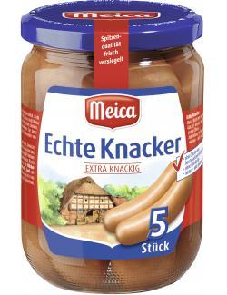 Meica Echte Knacker extra knackig  (5 x 62 g) - 4000503133300