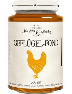 Jürgen Langbein Geflügel-Fond  (500 ml) - 4007680105335