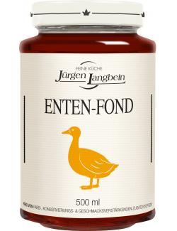 Jürgen Langbein Enten-Fond  (500 ml) - 4007680105441