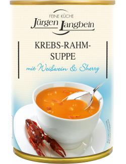 Jürgen Langbein Krebs-Rahm-Suppe  (400 ml) - 4007680103034