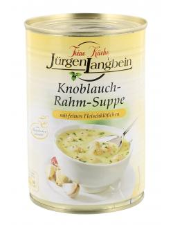 Jürgen Langbein Knoblauch-Rahm-Suppe  (400 ml) - 4007680103546