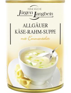 Jürgen Langbein Allgäuer Käse-Rahm-Suppe  (400 ml) - 4007680106462