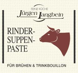 Jürgen Langbein Rinder-Suppen-Paste  (50 g) - 4007680100057