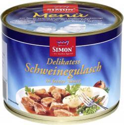 Simon Delikatess-Schweinegulasch  (500 g) - 4002757012226