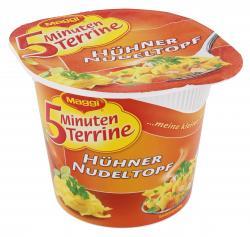 Maggi 5 Minuten Terrine Hühner-Nudeltopf  (41 g) - 4005500317906