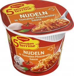Maggi 5 Minuten Terrine Nudeln Tomate-Mozzarella  (55 g) - 4005500351634