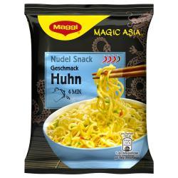 Maggi Magic Asia Nudel Snack Huhn  (65 g) - 9556001100160