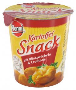 Pfanni Kartoffel Snack mit Röstzwiebeln & Croûtons  (57 g) - 4000400124906
