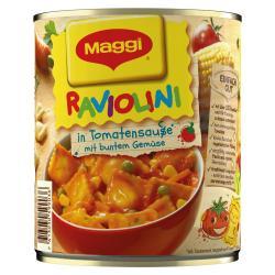 Maggi Raviolini in Tomatensauce mit Gemüse  (800 g) - 7613030599036