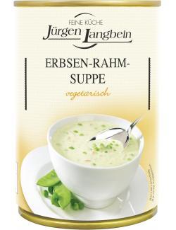 Jürgen Langbein Erbsen-Rahm-Suppe  (400 ml) - 4007680106295
